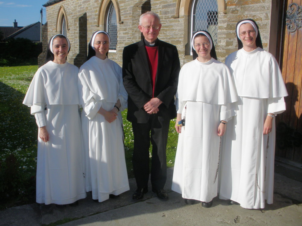 Visit of Dominican Sisters of St. Cecilia, 2015